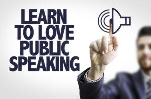 Learn to Love Public Speaking